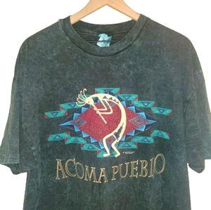 Vintage94' Acoma Pueblo AZ Native American Art Tee
